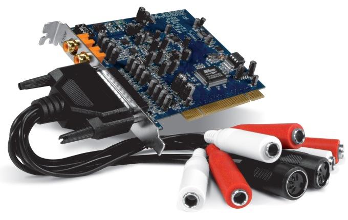 Обзор звуковой карты M-Audio Audiophile 192
